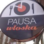 Pausa Włoska, Warszawa