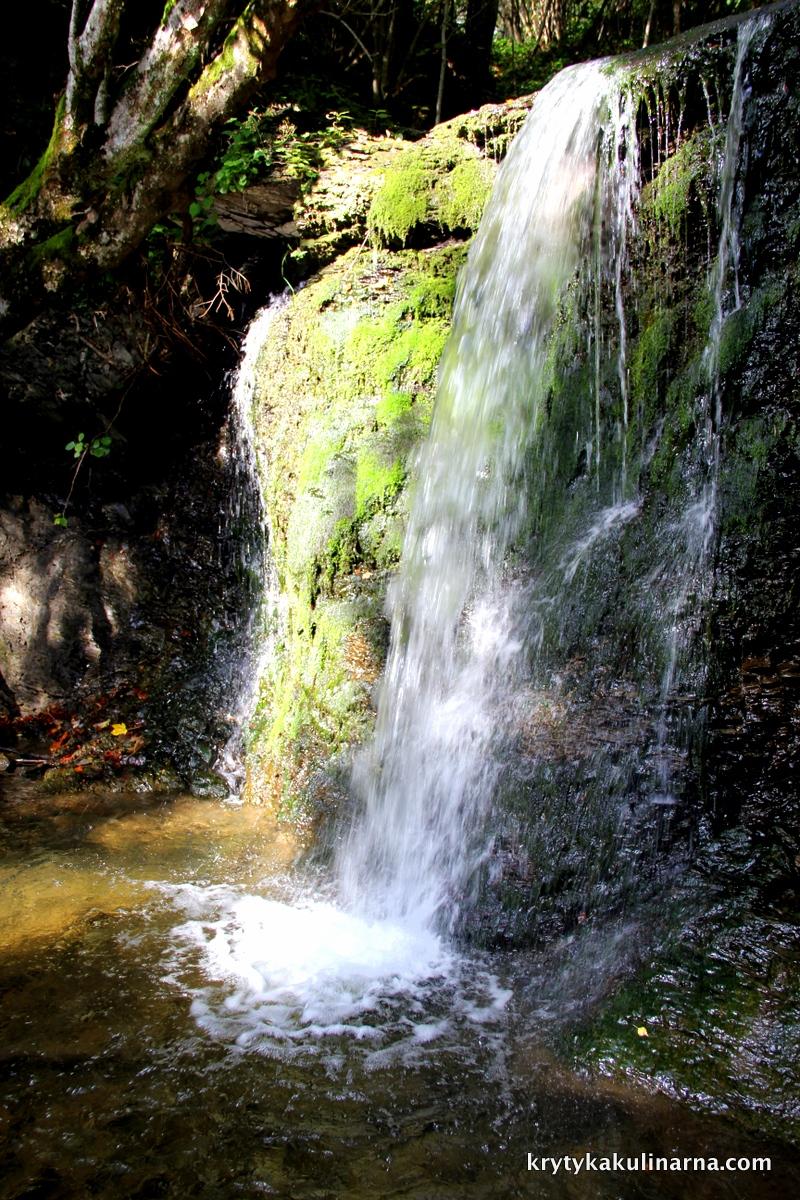 Bieszczady wodospad