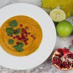 Bardzo niewegetariańska zupa z dyni – przepis