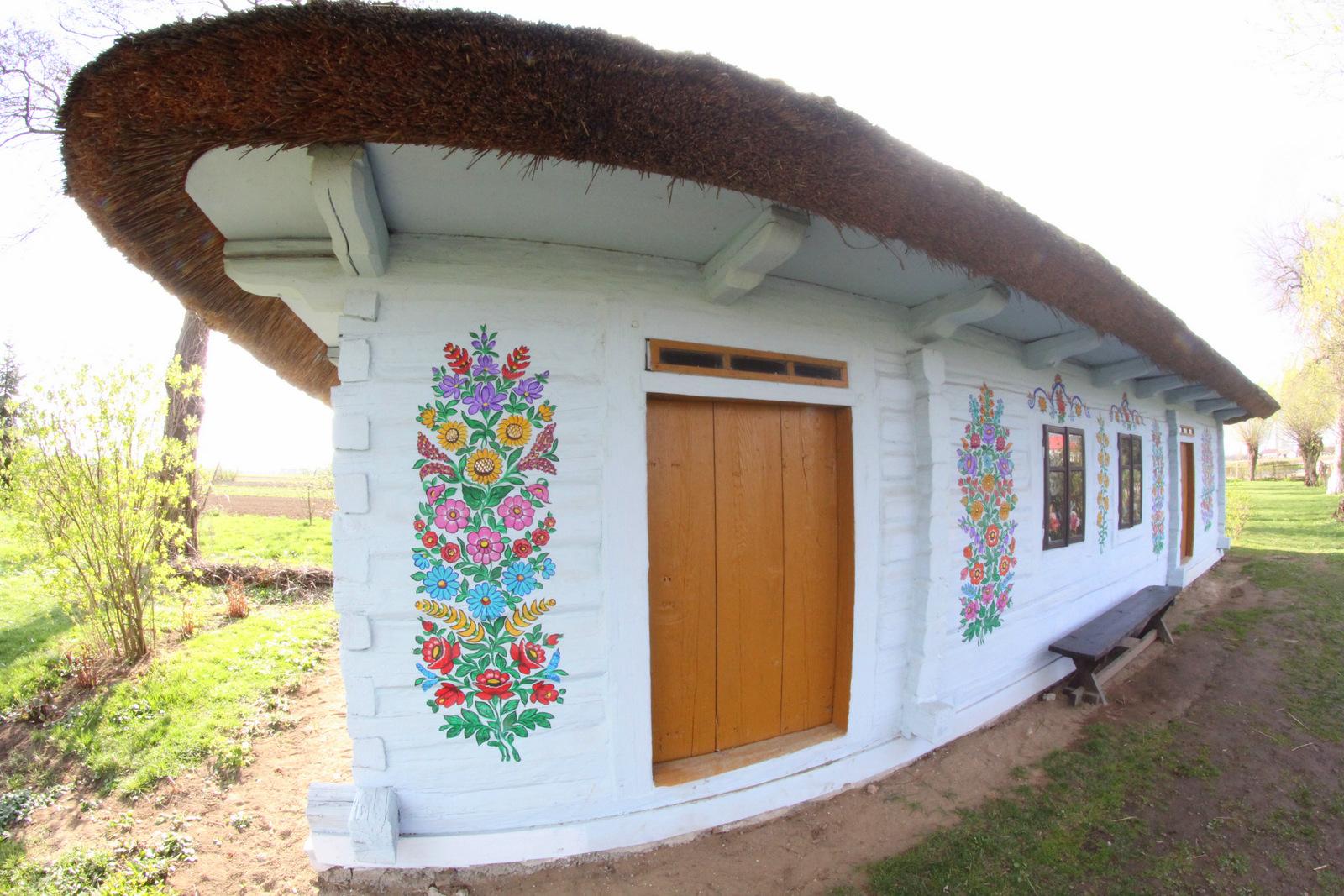 zalipie malowana wieś