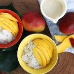 Mango sticky rice – przepis na danie, które smakuje tak, że chciałabym je jeść codziennie