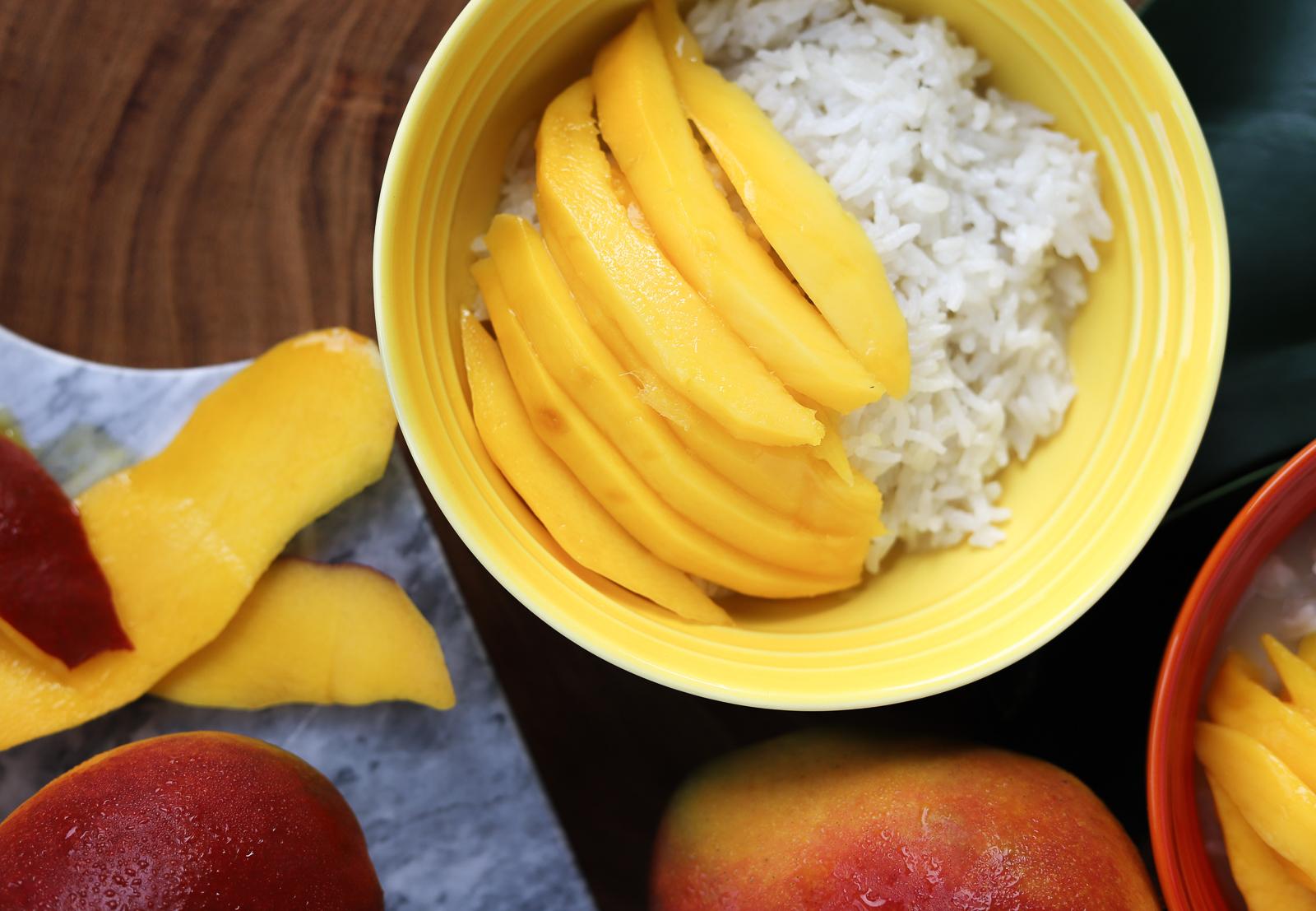 mango sticky rice przepis