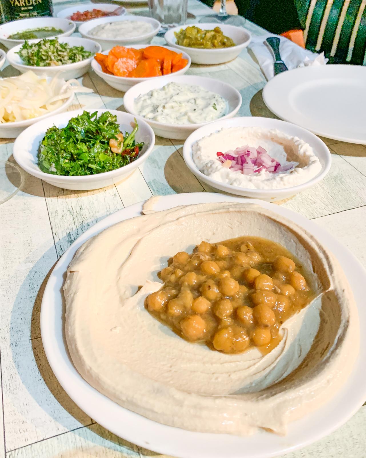 hummus przepis z izraela