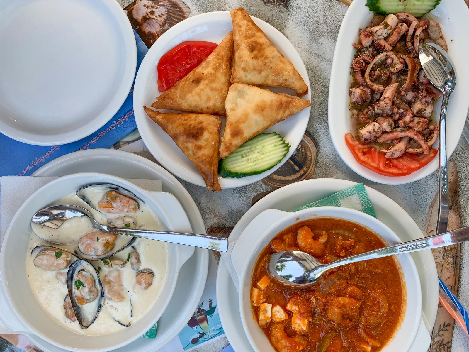 kos grecja gdzie jeść