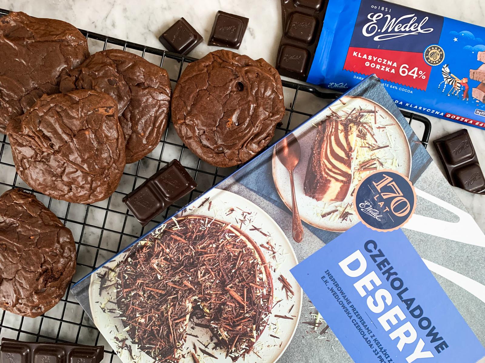 ciastka czekoladowe przepis