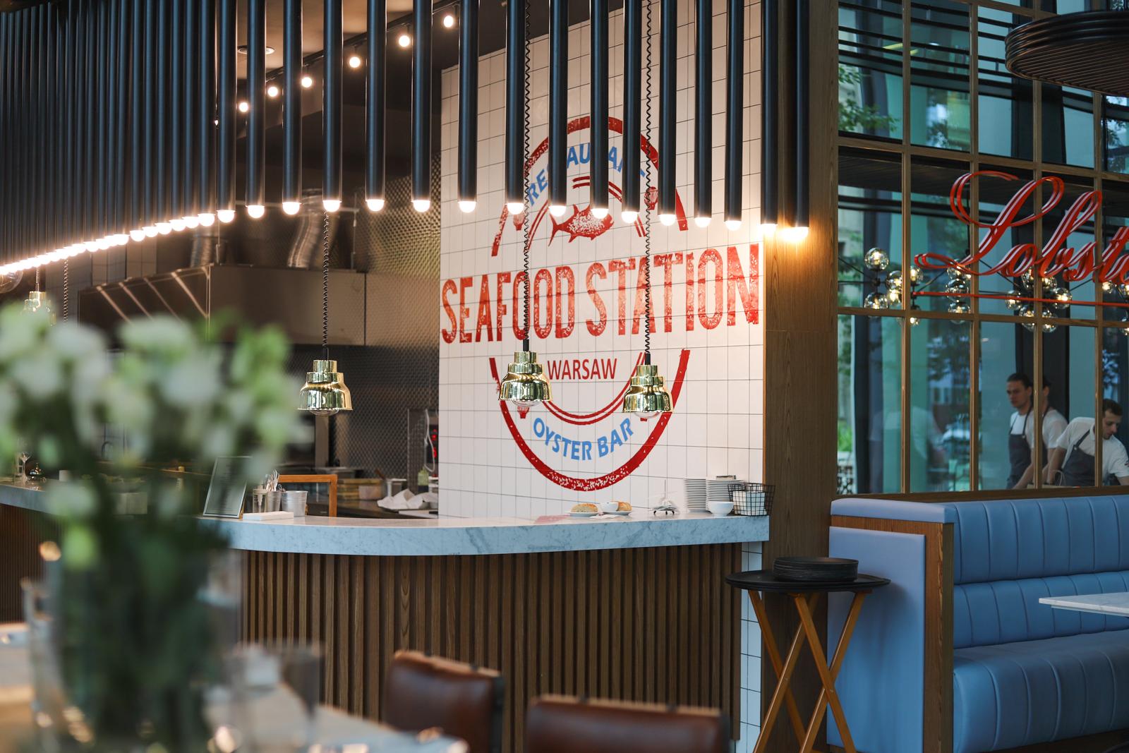 seafood station warszawa